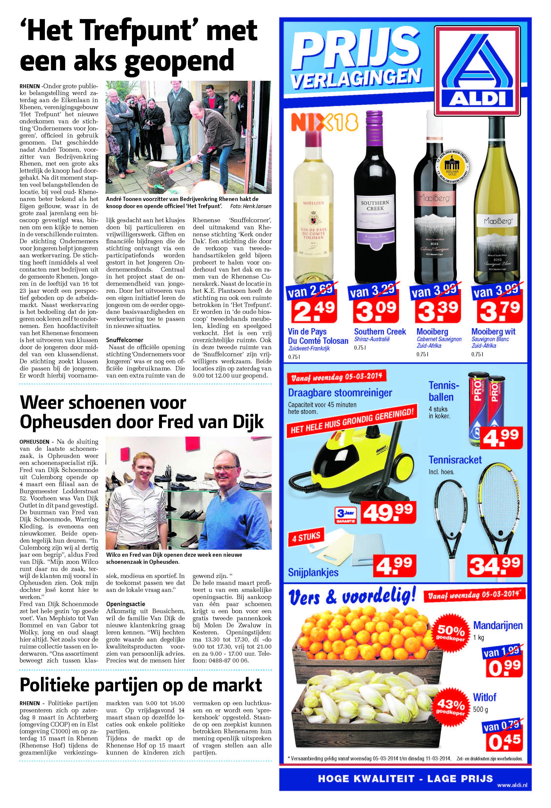 Rhenense Betuwse Courant 5 maart 2014